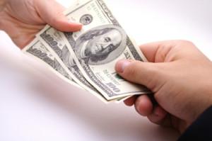 Personal Loans Handing Money